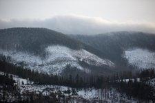 Jakub Spodymek fotografia przyrodnicza krajobraz Beskid Romanka Rysianka Zima