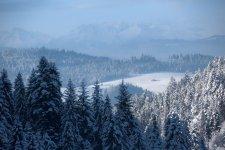 Jakub Spodymek fotografia przyrodnicza krajobraz Pieniny zima