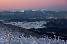 Jakub Spodymek fotografia przyrodnicza Pilsko krajobraz zima wschód słońca