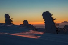 Jakub Spodymek fotografia przyrodnicza Pilsko wschód słońca zima