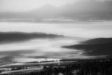 Jakub Spodymek fotografia przyrodnicza krajobraz Pilsko mgła